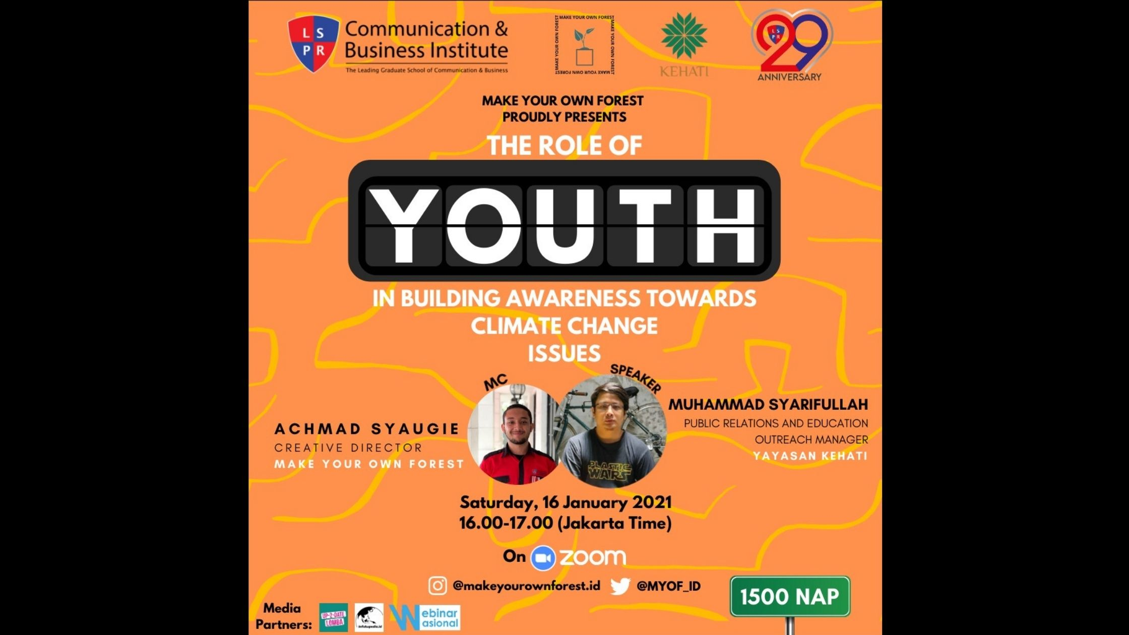 [HEADLINE] The Role of Youth in Building Awareness Towards Climate Change Issues