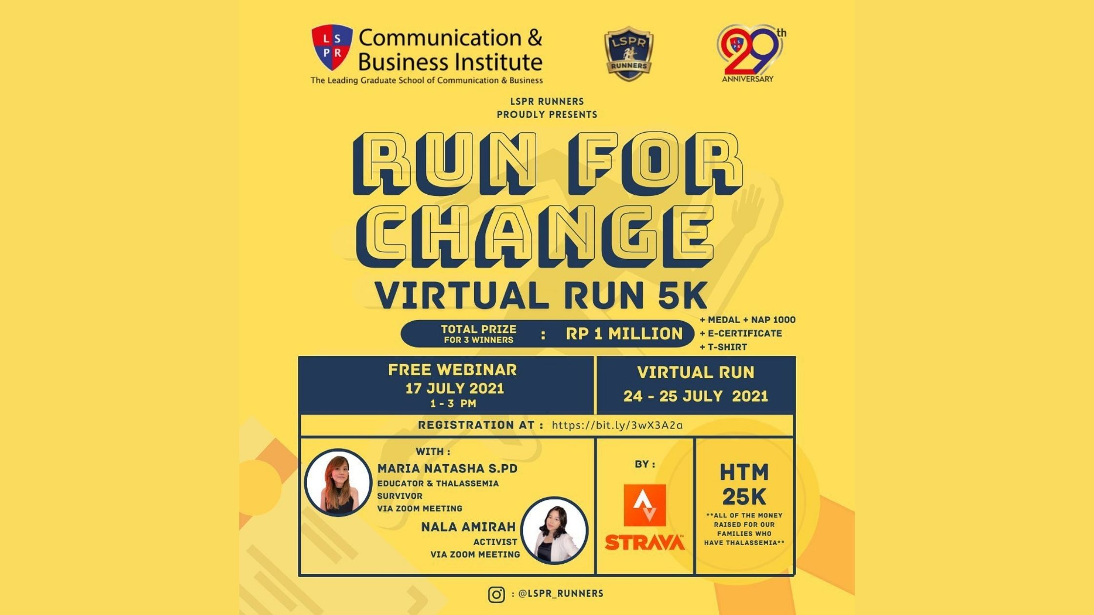 """[UPDATE] LSPR Runners – """"Youth Change Makers"""" Webinar"""